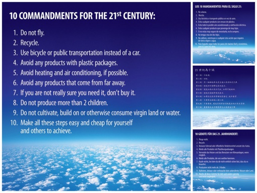 10 Commandments for the 21st Century